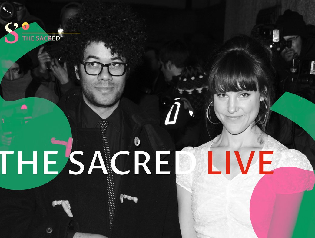 The Sacred Live with Richard Ayoade and Lydia Fox