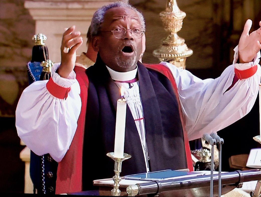 A surprisingly religious royal wedding: Bishop Curry's uncivil religion