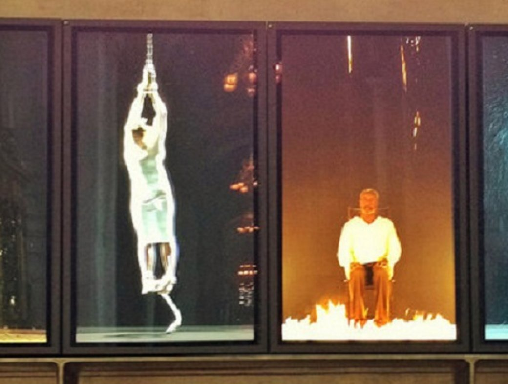 How real are you? Bill Viola's 'Martyrs'