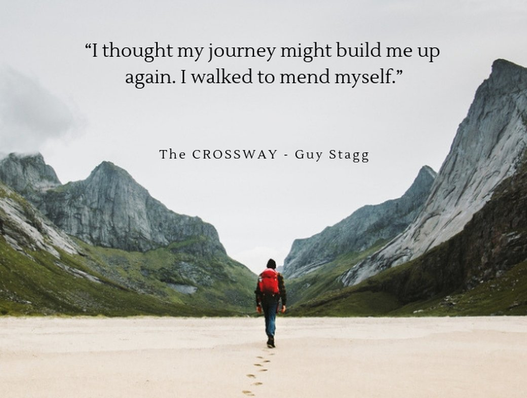 The long walk of the Cross