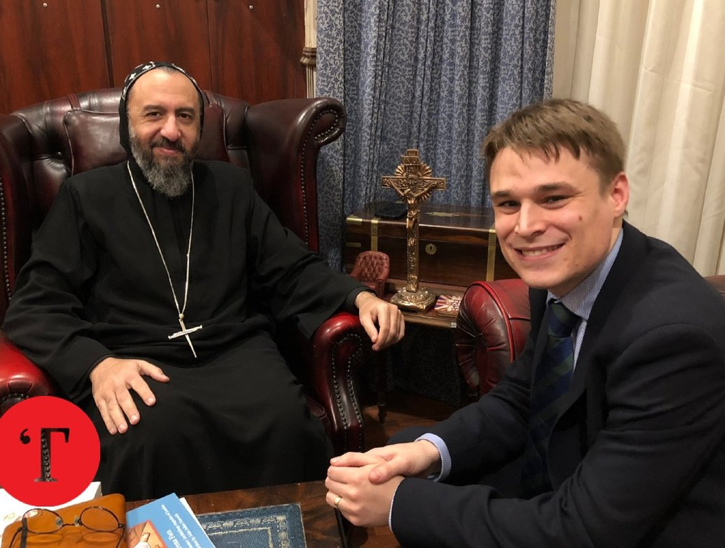 Ben Ryan in conversation with Archbishop Angaelos