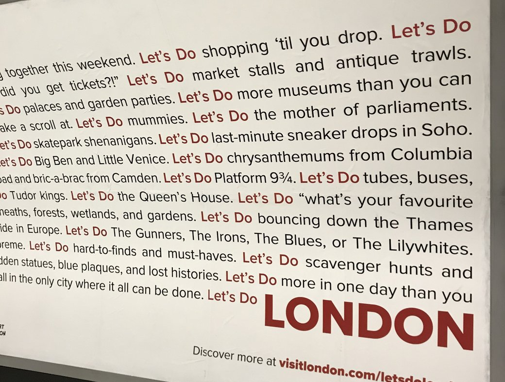 To 'do London', you really need to 'do God'