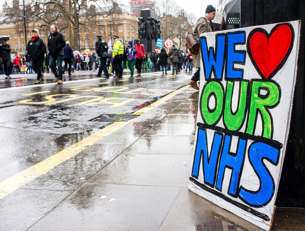 Clapping for the NHS, our new religion