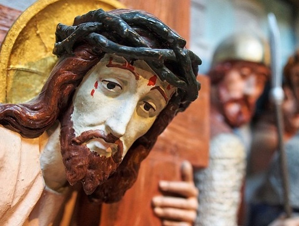 Stations of the Cross – suffering, then and now