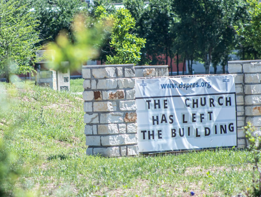 Right now, churches should close