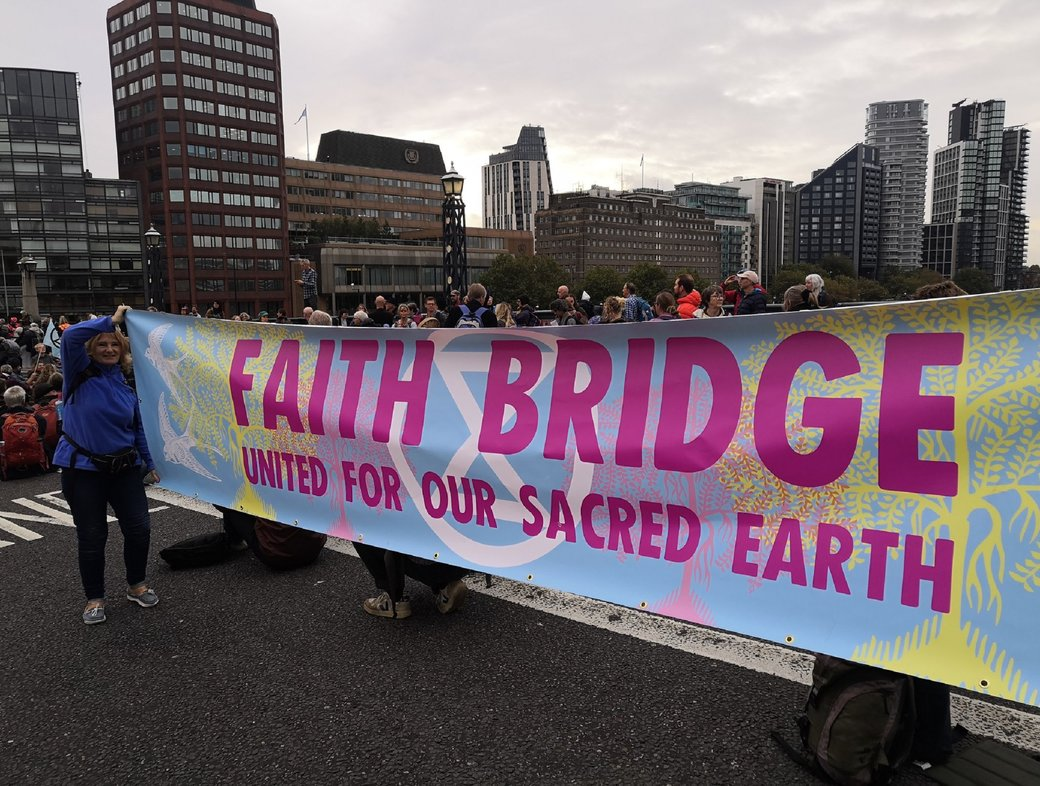 Beyond guilt? Extinction Rebellion and the call to love in action
