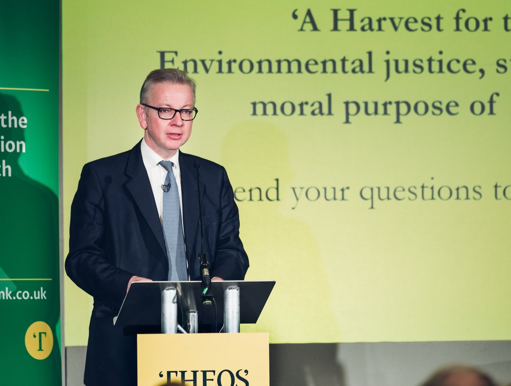 Michael Gove: When will there be a harvest for the world?
