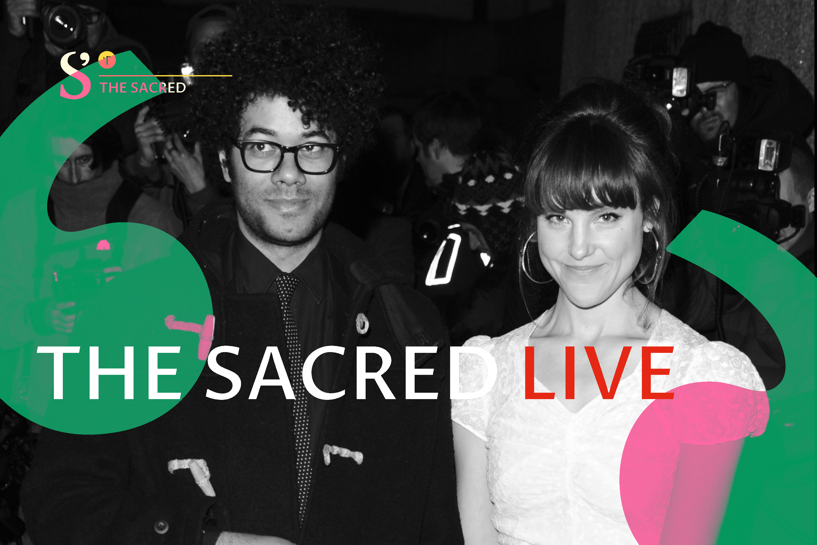 The Sacred Live With Richard Ayoade And Lydia Fox Theos Think Tank Understanding Faith Enriching Society